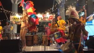 博多サマーフェス2015_GEKIDAN☆AFRICA_Heroisa feat.ハタタトシア